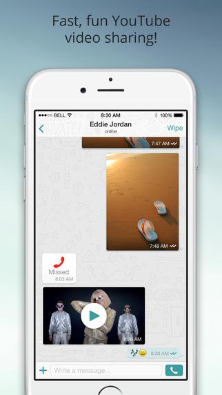 Wiper iPhone App