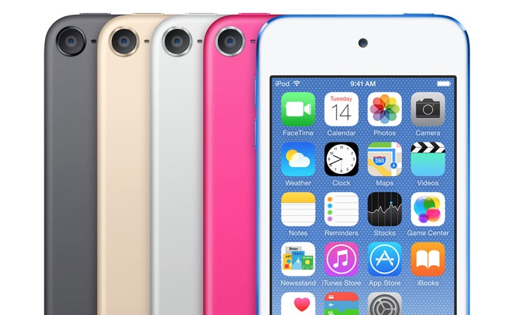 2015 iPod touch Arrives with A8 Chip, Better Camera