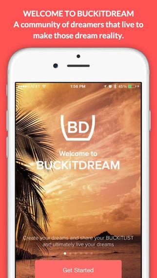 Buckitdream App