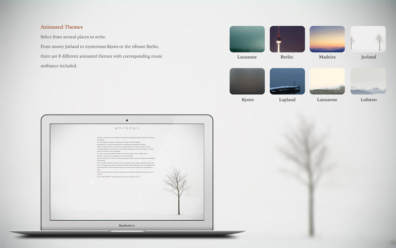 Haven: Creative Writing Tool - Mac OS Review
