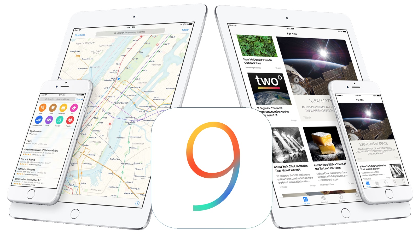 New in iOS 9 Beta 4: New Handoff, 2015 iPod touch Support, More