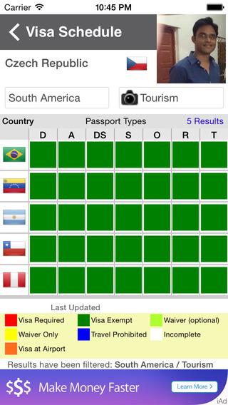 VisaPort App