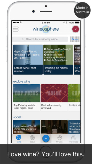 Wineosphere iPhone App Review