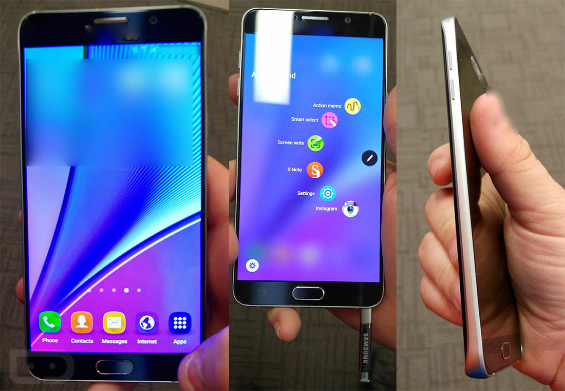 Galaxy Note 5 Photos, Specs: Solid Competitor with Omissions
