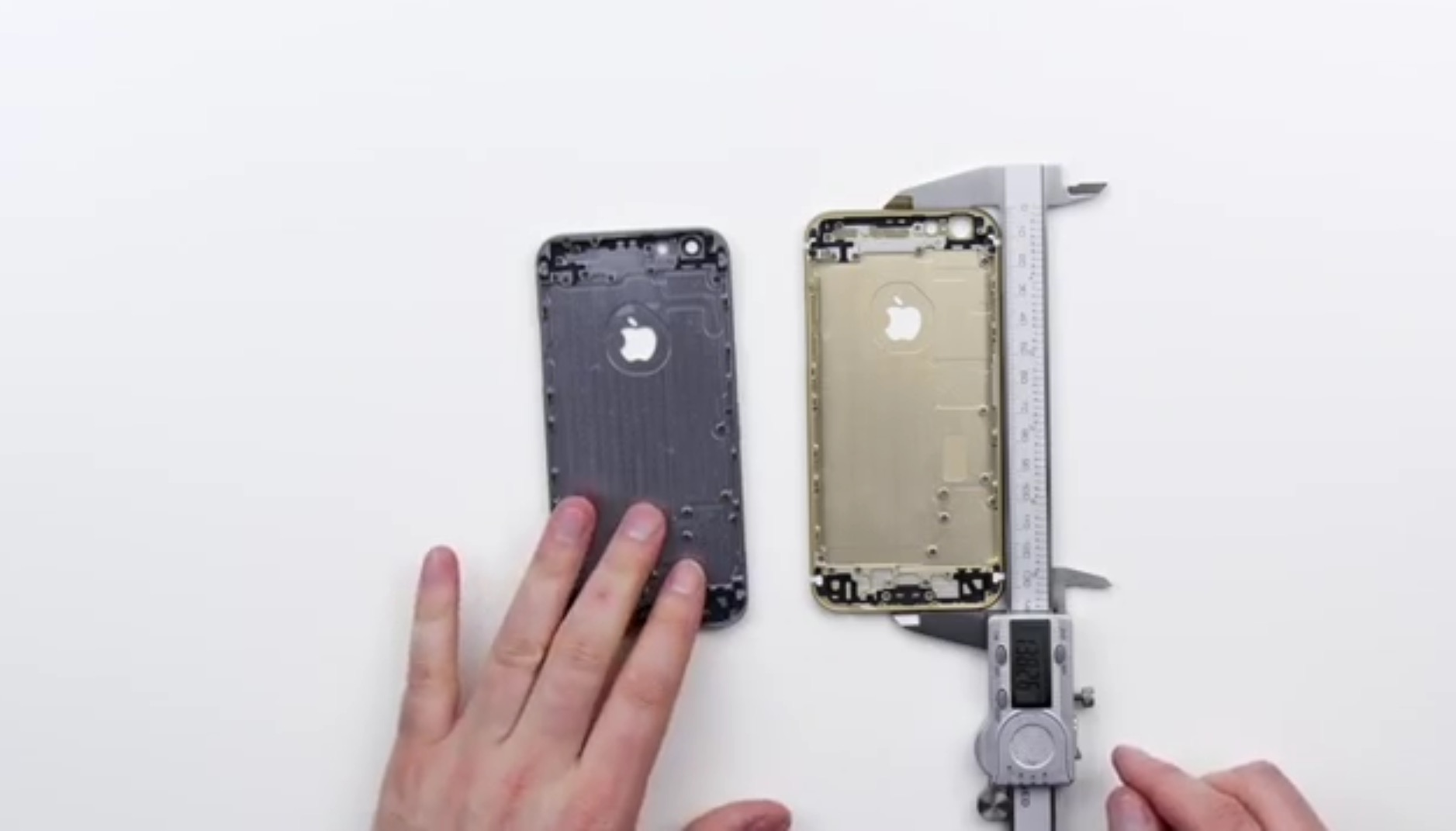 iphone 6s, bendgate, iphone 6s frame, back panel