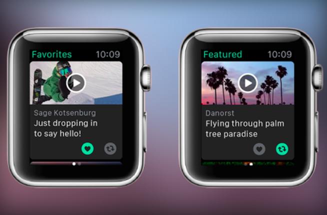 Vine Finally Arrives On Apple Watch, Brings iOS App Updates