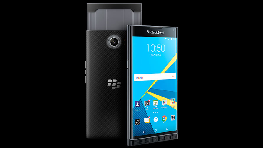 Blackberry Priv press shot.