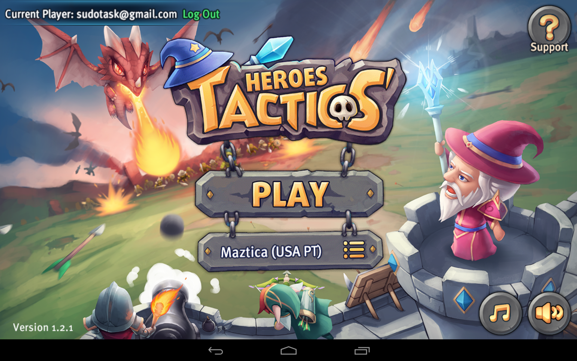 Heroes Tactics - Android Review
