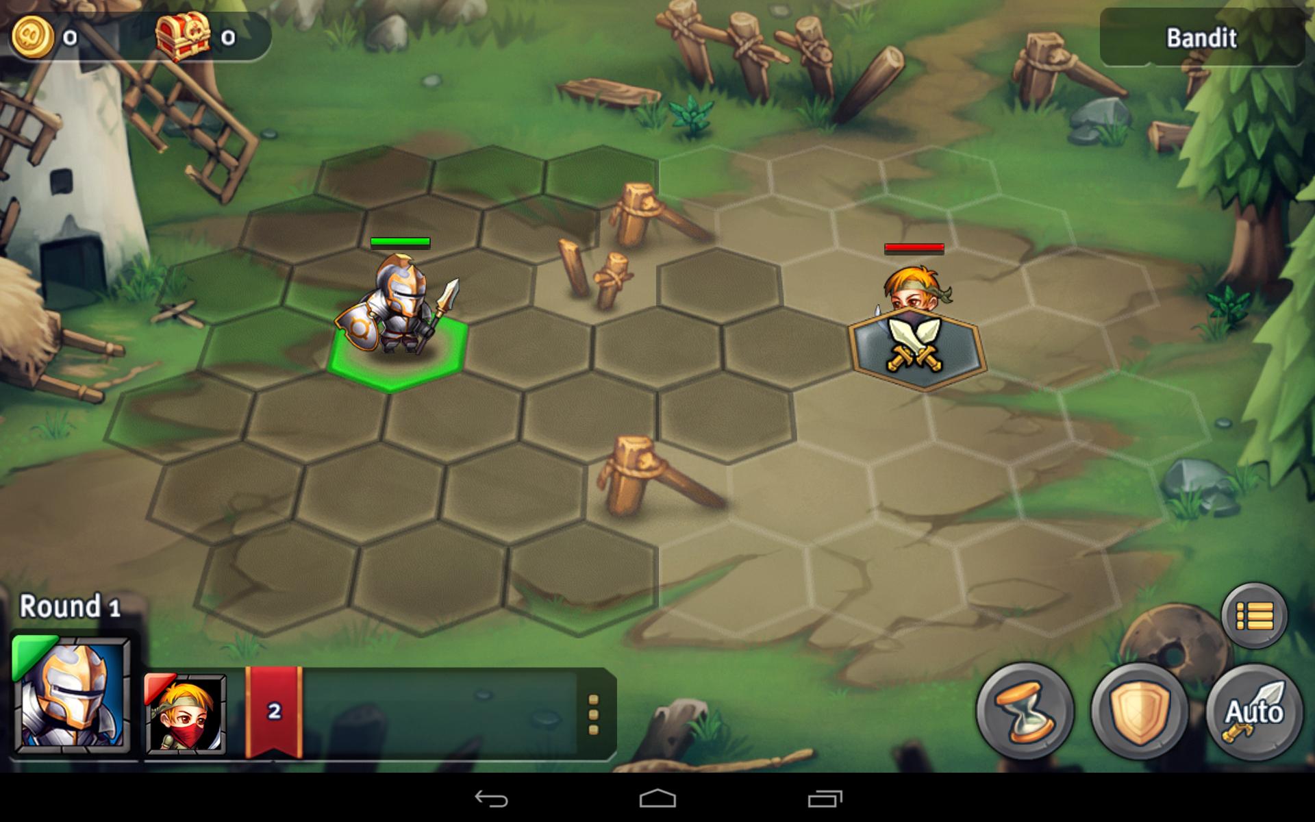 Heroes Tactics - Combat Grid