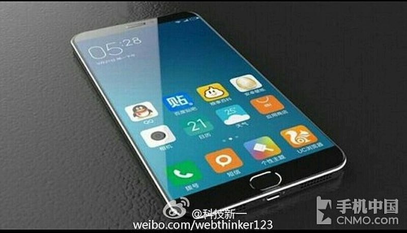 Xiaomi Mi 5 Front Panel Leaked, Reveals Physical Home Button