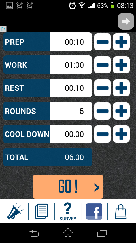 HIIT Interval Training Timer – Android Review