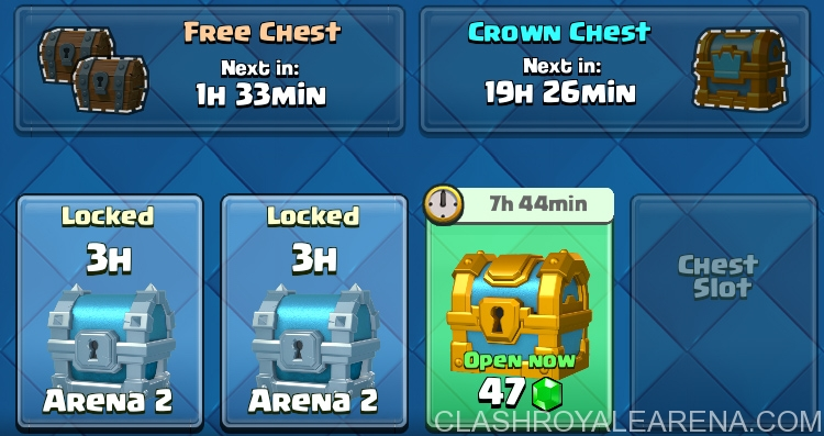 Clash Royale Strategy - Chests