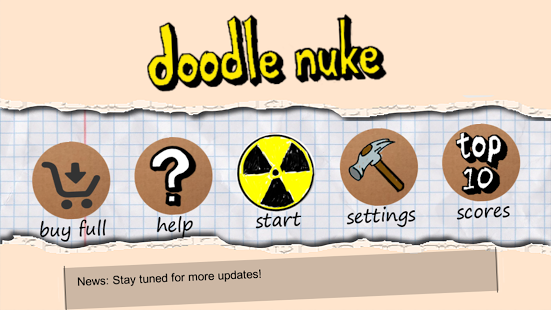 Doodle Nuke Android game