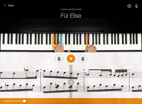 Learn to Play Piano with Flowkey for iPad