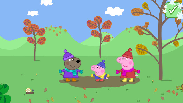 Peppa Pig: Seasons - Autumn and Winter iOS App Review