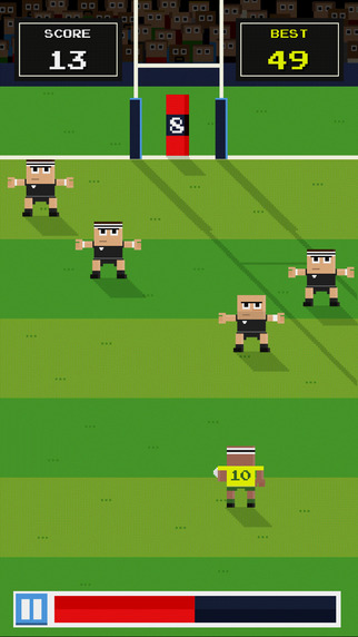 Retro Rugby iOS Game Review