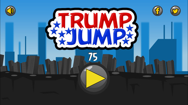 Collect Votes and Avoid the Other Candidates in Trump Jump for iOS