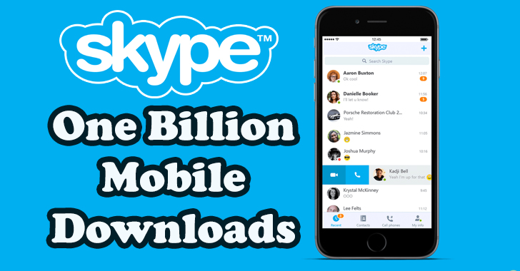 Skype Mobile App Downloaded On More Than 1 Billion Smartphones