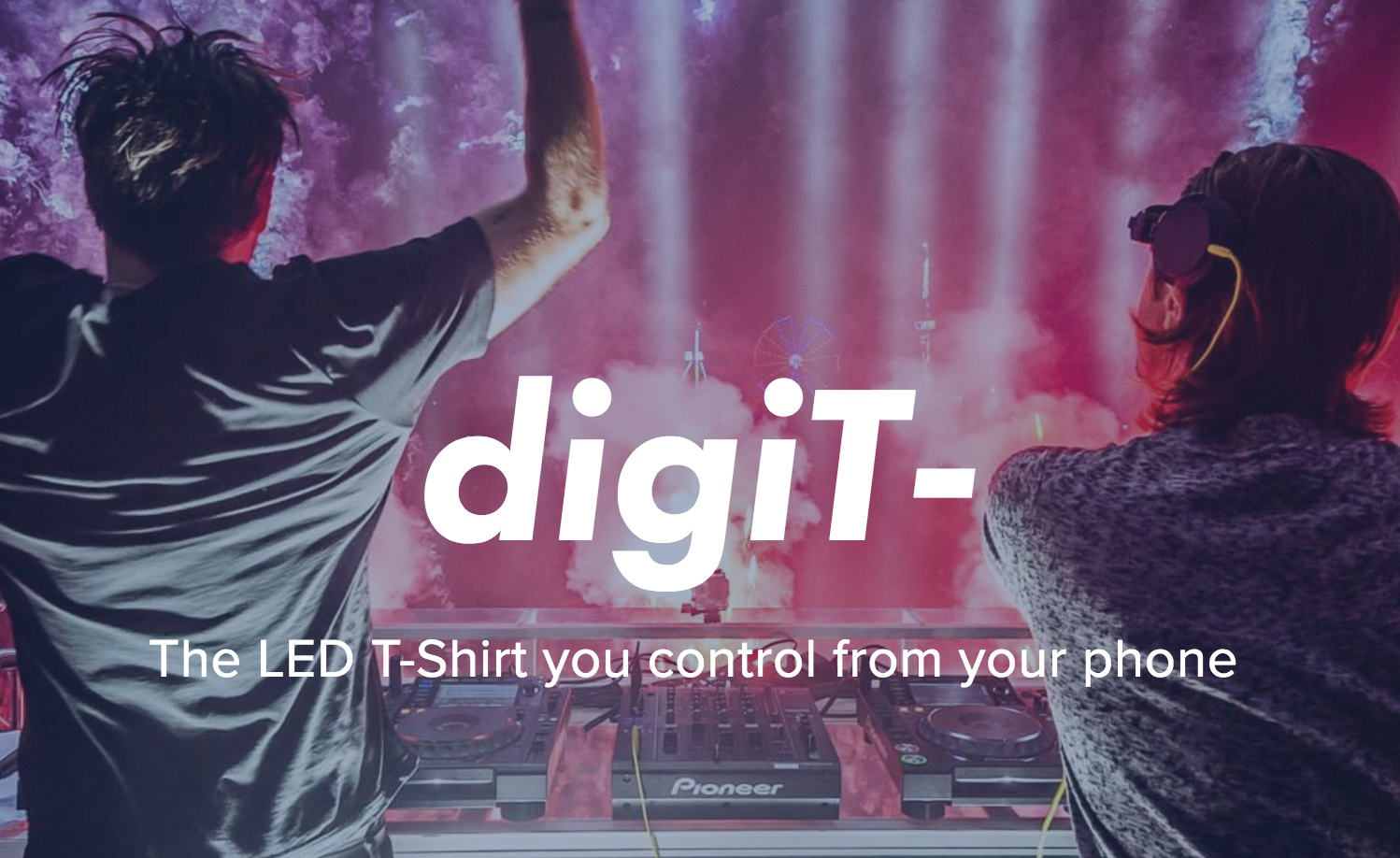 LED T-Shirt You Control From Your Phone Designed by Harvard Business School MBA Students