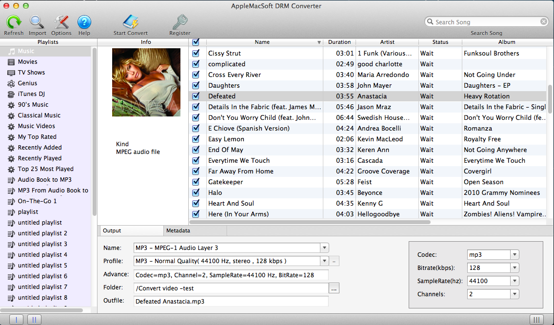 DRM Converter for Mac & Windows by AppleMacSoft