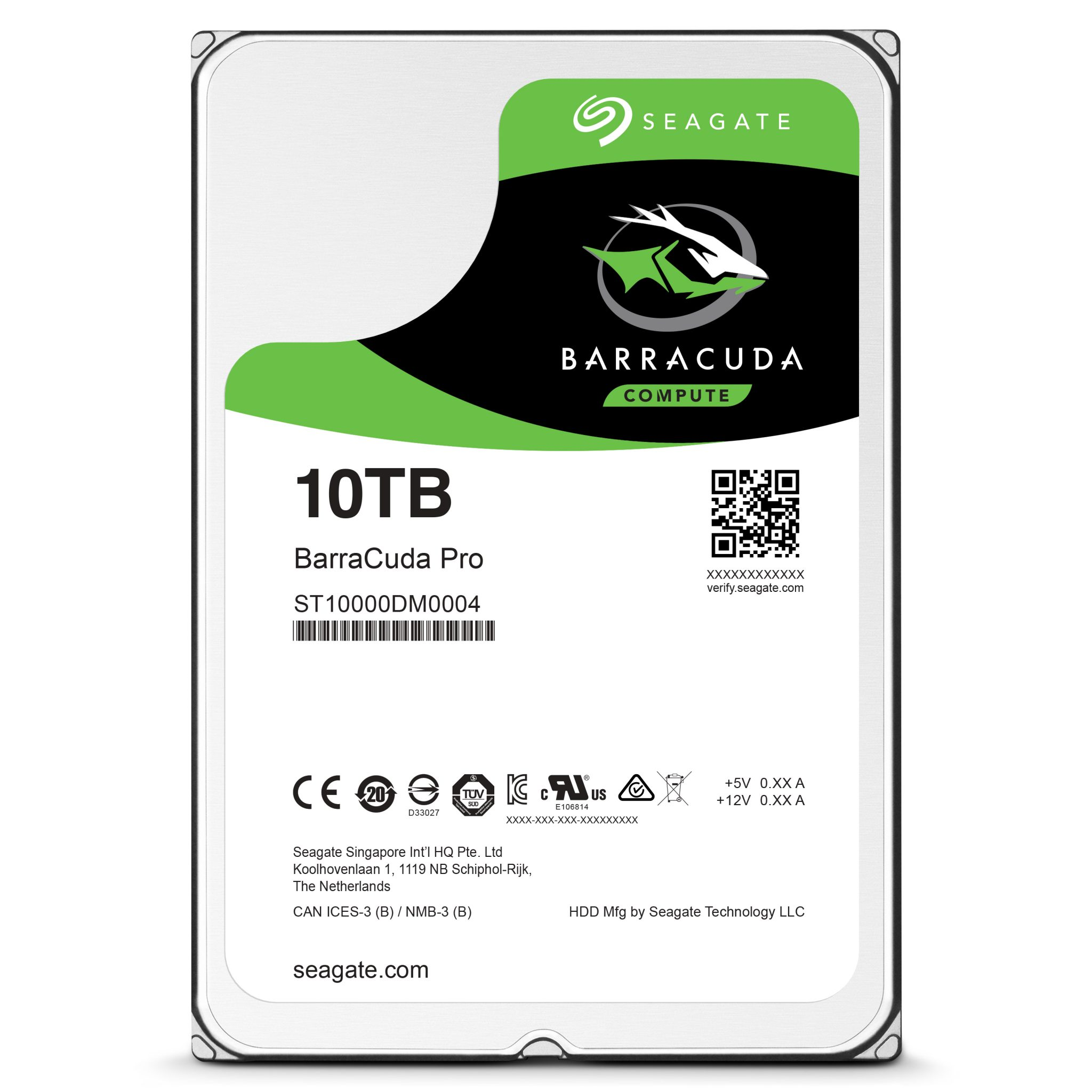 Seagate has made the world's first consumer-based 10TB for you