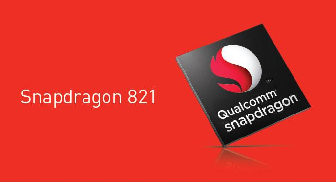 Snapdragon 821 features 10 percent faster performance than Snapdragon 820