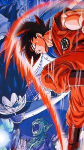 Goku Vs Vegeta HD Gaming Wallpapers for iPhone 7