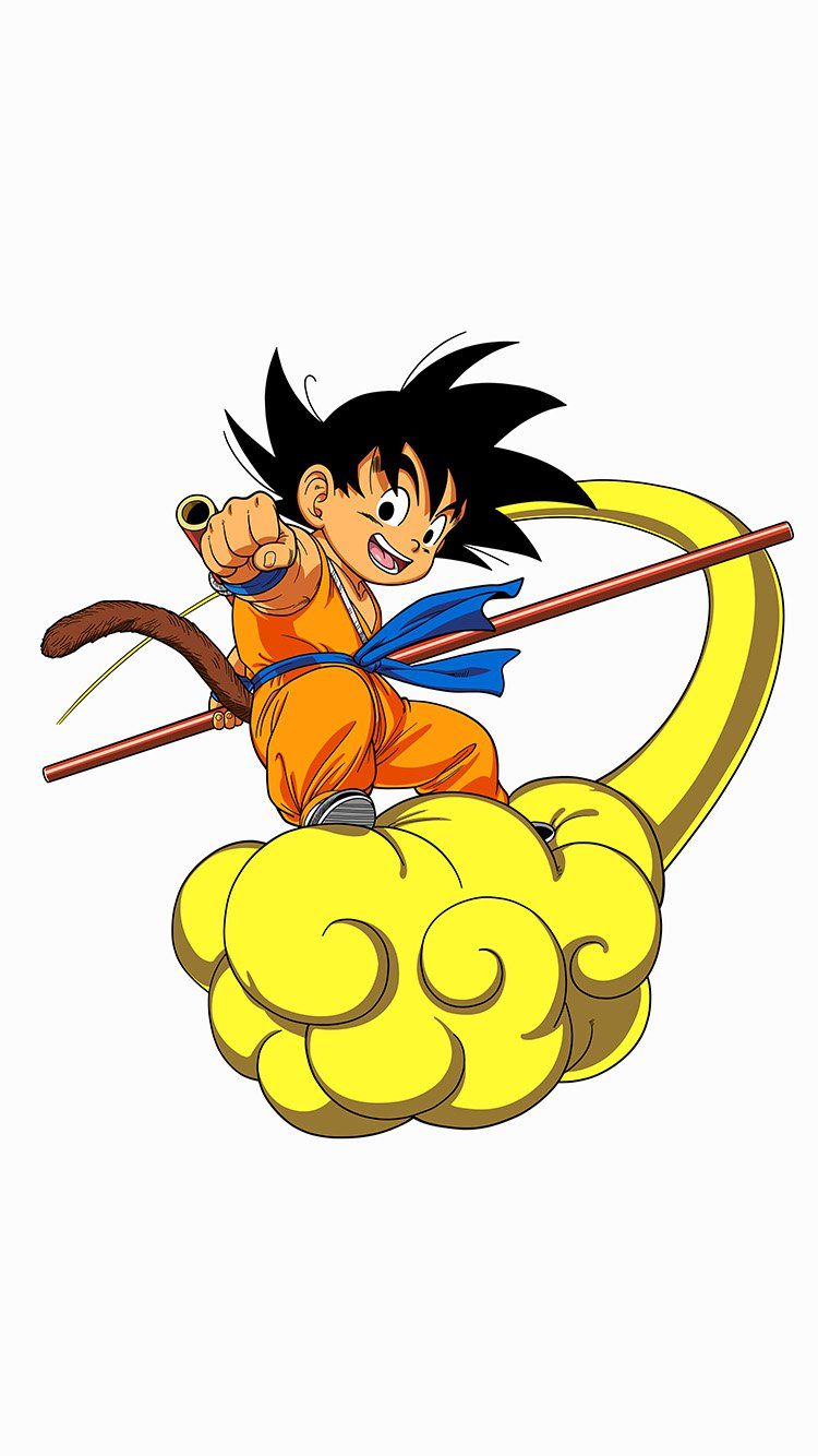 Small Goku HD Gaming Wallpapers for iPhone 7