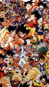 DBZ HD Gaming Wallpapers for iPhone 7
