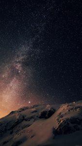 Milky Way iPhone 7 Wallpaper
