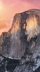 Sunset Dawn Mountain iPhone 7 Wallpaper