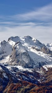 Snow Rocky Mountain iPhone 7 Wallpaper