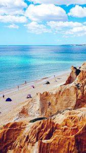 Rocky Beach iPhone 7 Wallpaper