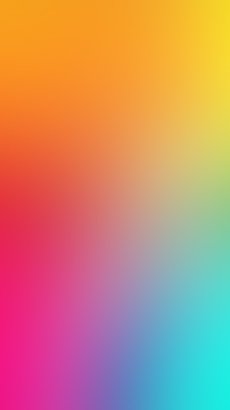 Blur Rainbow iPhone 7 Colorful Wallpapers