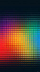 Rainbow Mini Box iPhone 7 Colorful Wallpapers