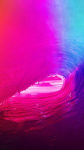 Pink and Blue iPhone 7 Colorful Wallpapers