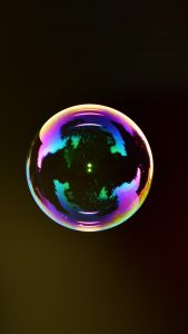 Bubble iPhone 7 Colorful Wallpapers