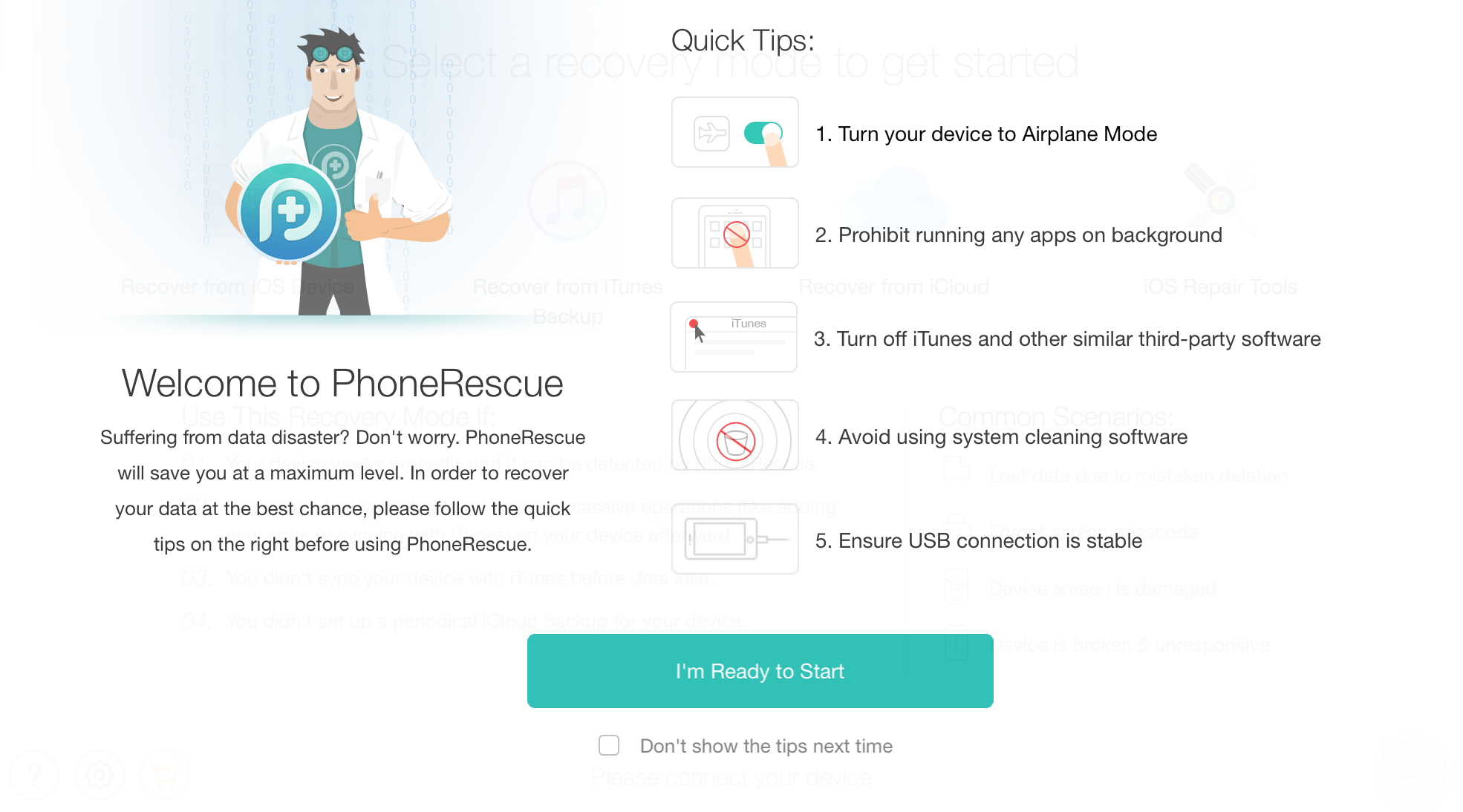 Recover Deleted Data from your iPhone & iPad with PhoneRescue 2
