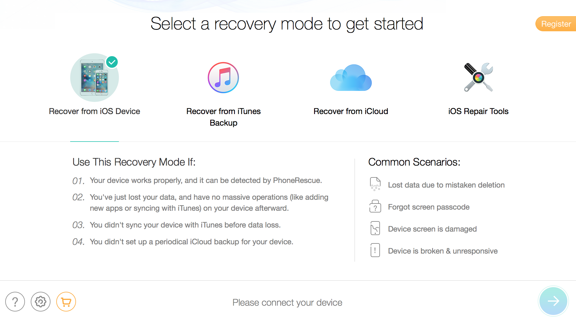 Recover Deleted Data from your iPhone & iPad with PhoneRescue 3