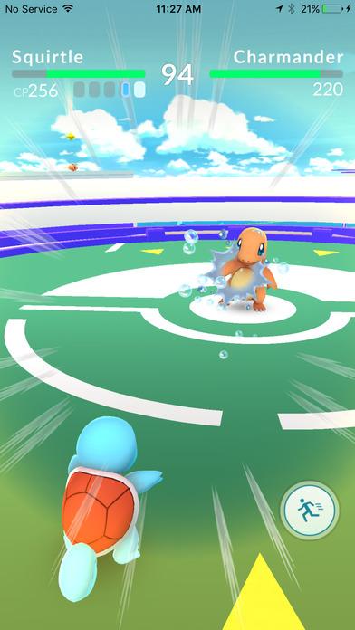 Pokemon GO Game - Fighting