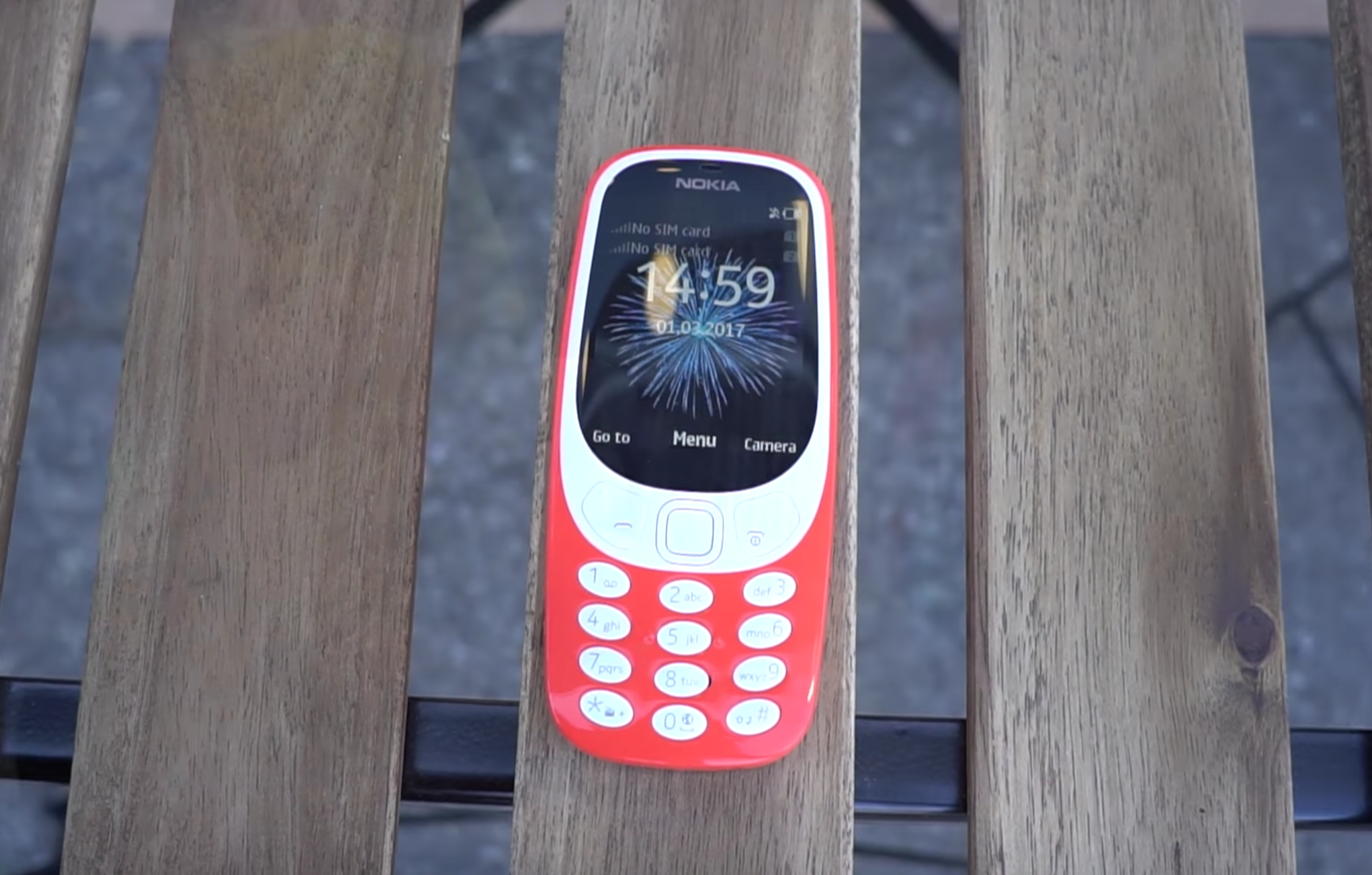 Image of the new Nokia 3310 2017