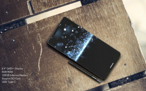 A concept image of the Samsung Galaxy Note 8