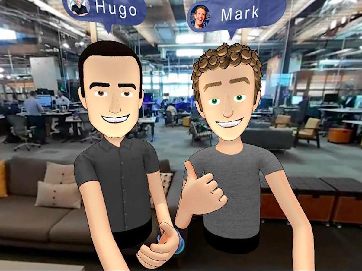 Virtual Reality Mark Zuckerberg