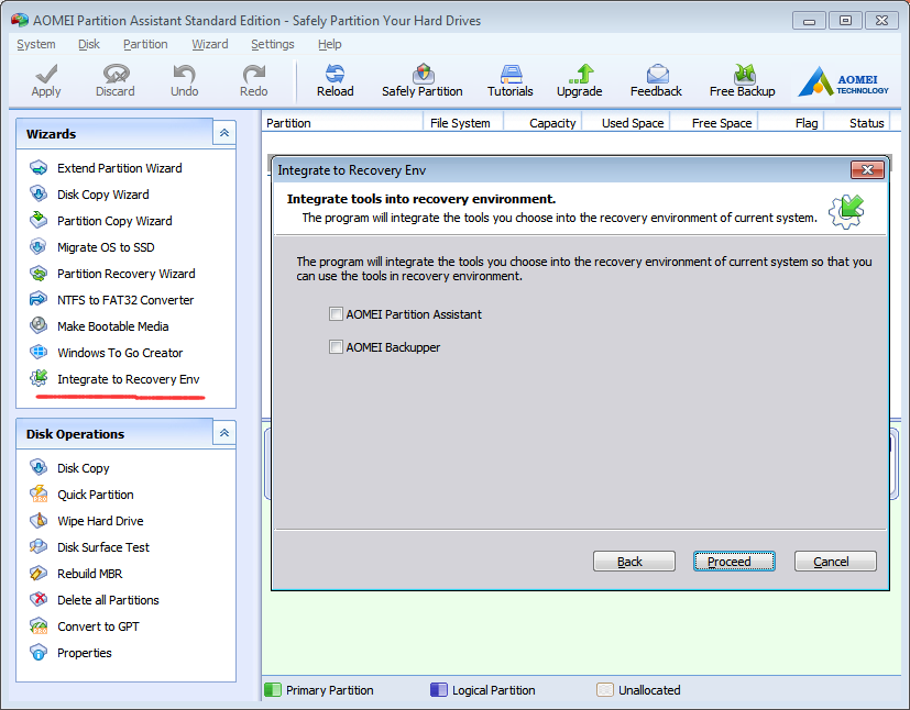 AOMEI Partition Assistant 6.3 Image 1