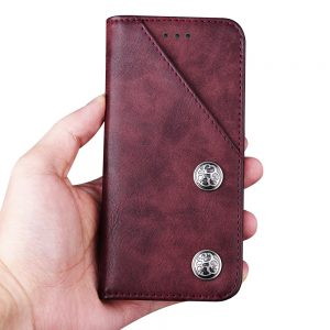 iPhone X leather Cover 6