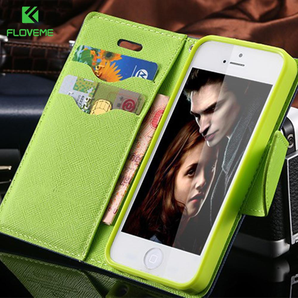 Leather Wallet Phone Case Protective Cover with Card Holder Kickstand Flip