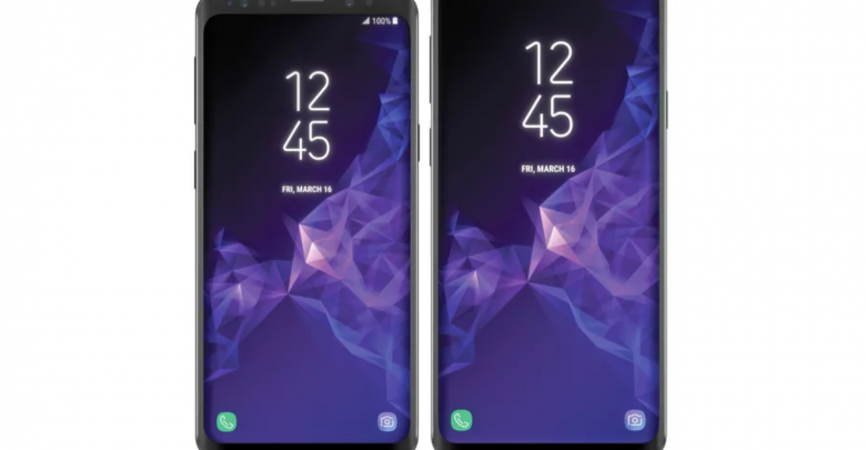 Leaked image of the Samsung Galaxy S9