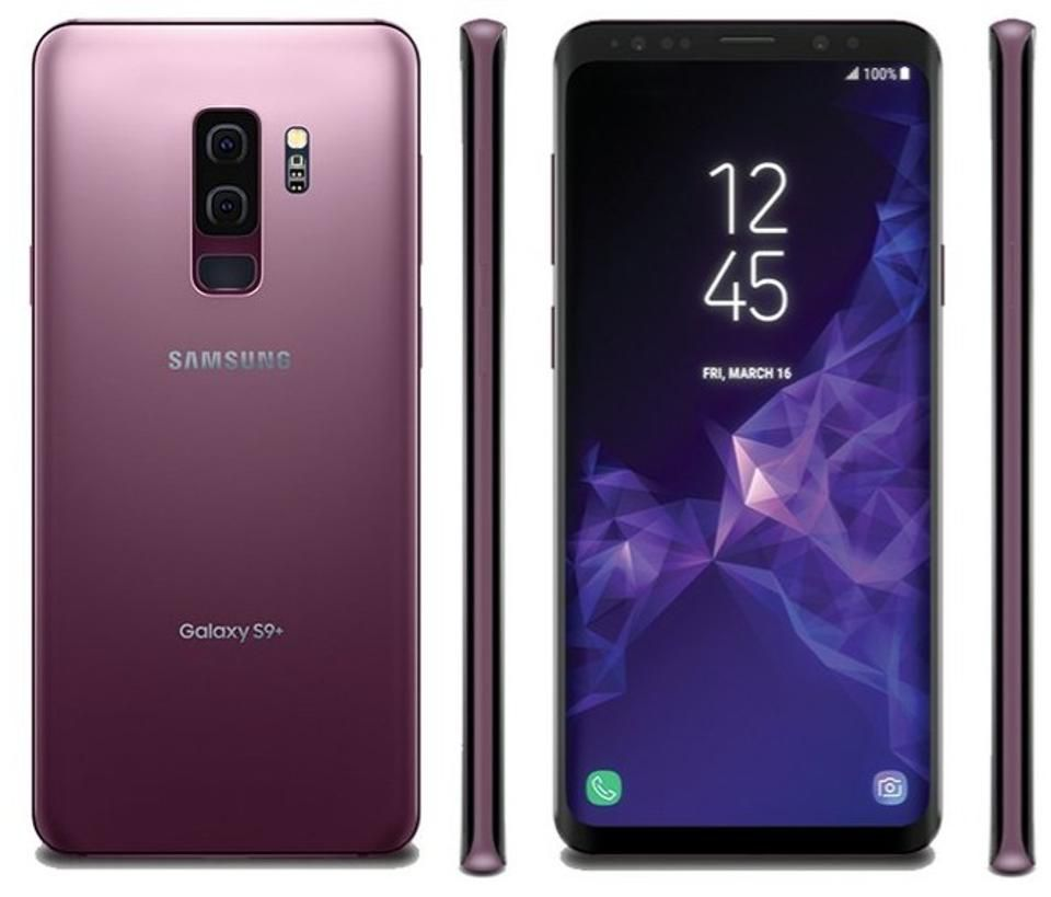 Samsung Galaxy S9 in Lilac Purple