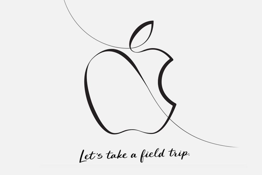 The invitation sent to the press by Apple