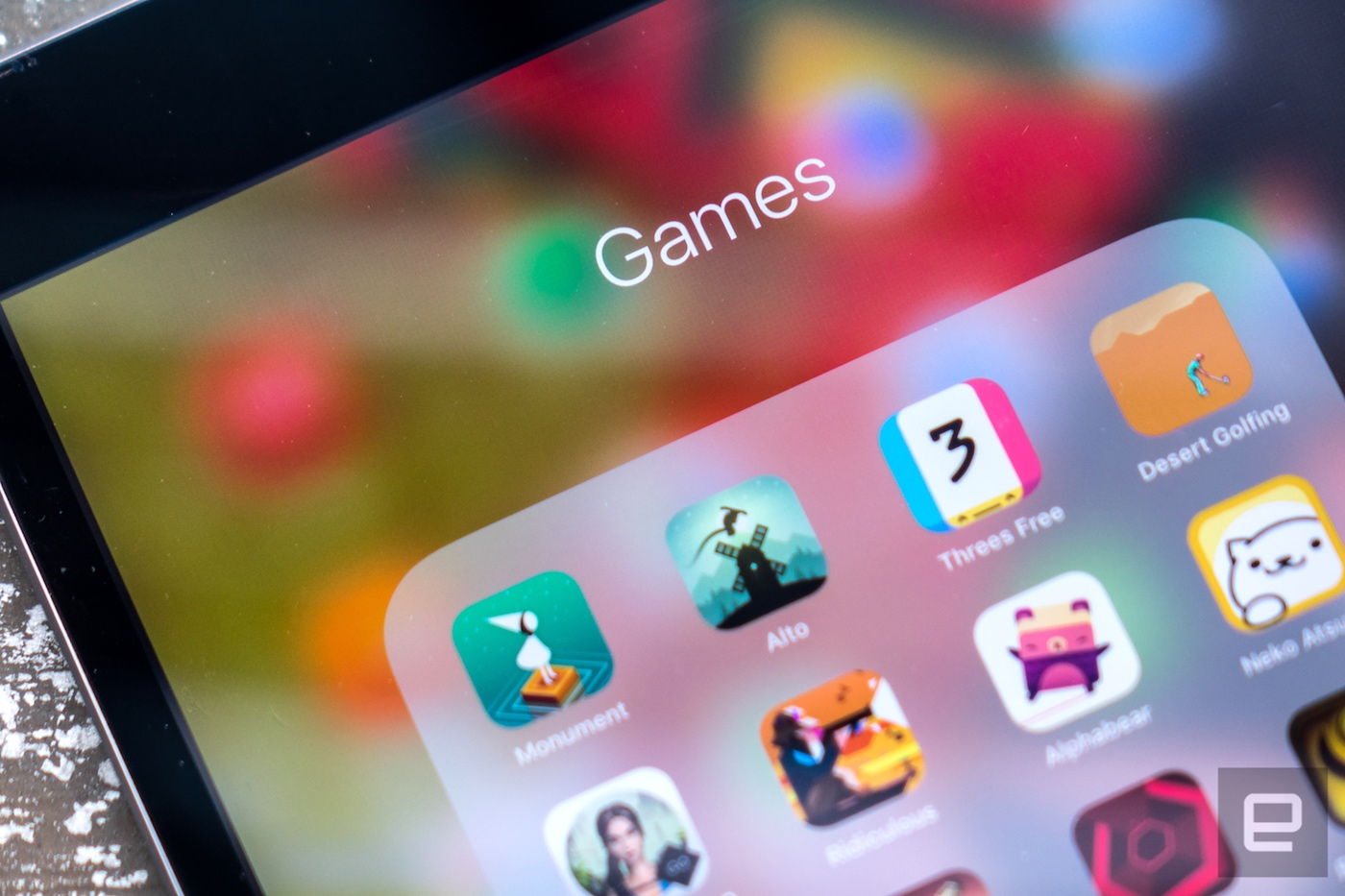 An image of strategy games on a mobile phone